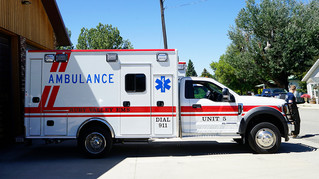 New 4WD Ambulance Arrives at Ruby Valley Emergency Medical Services
