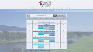 Community Healthcare Calendar