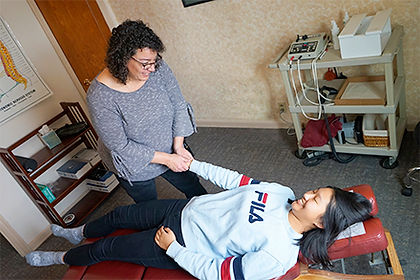 Dr. Meyer's chiropractic treatments at Ruby Valley Medical Center, Sheridan and Twin Bridges, Montana.