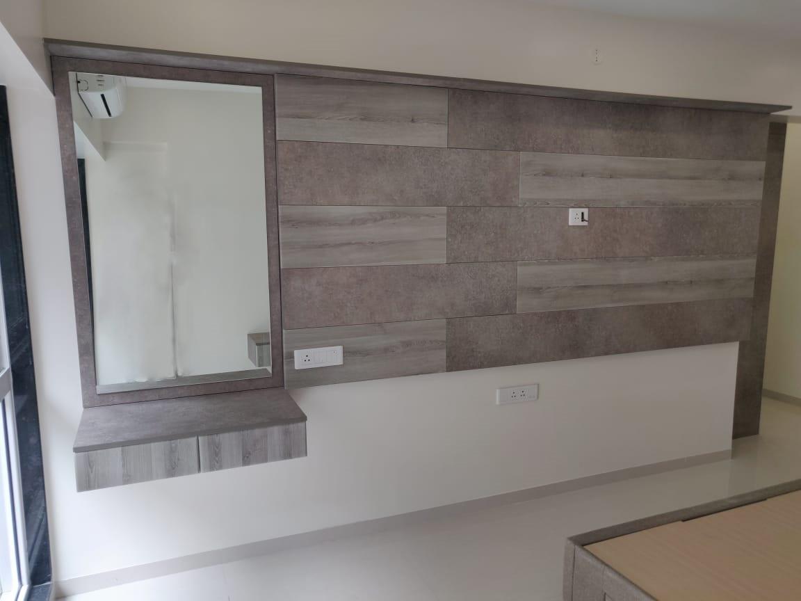 Master Bedroom Tv unit panel