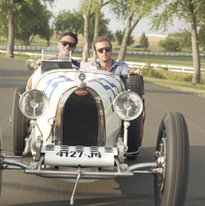 Screen grab from Breed of Speed Bugatti Episode