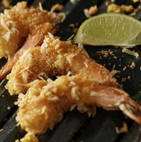 Coconut Shrimp food photography