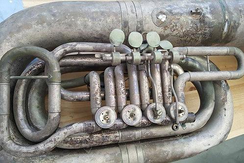 Tuba, restauración completa