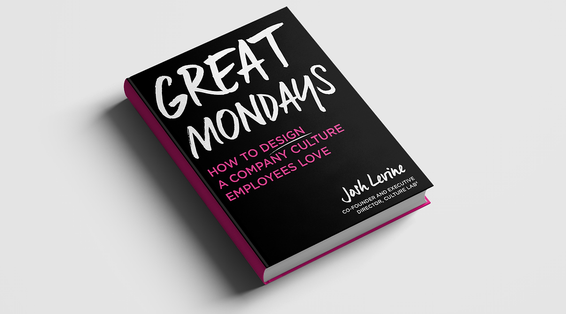 Great Mondays book: How to desgn company culture employees love