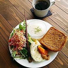 天然酵母のぱんplate lunch
