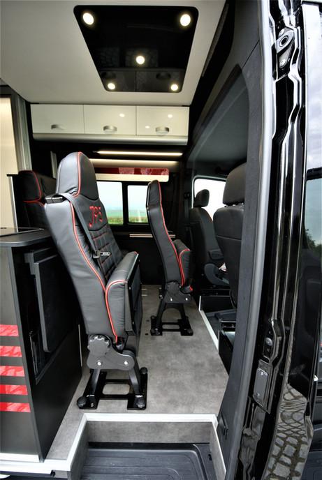 Sportissimo XL - odklopení sedadel