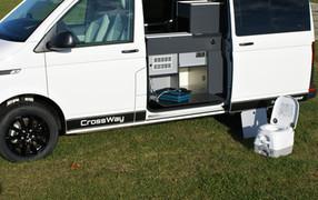 CrossWay - přenosné WC