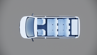 CrossWay - 8místné combi