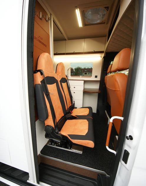 Sportissimo M - přídavná sedadla
