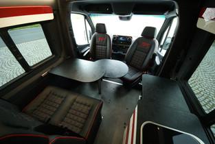 Sportissimo XL - kožené čalounění sedadel