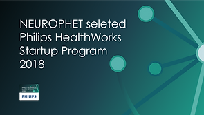 NERUOPHET selected philips healthworks startup program