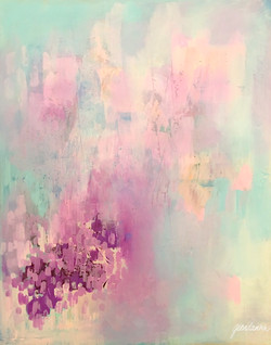 Serene Nebula by Geordanna Fields