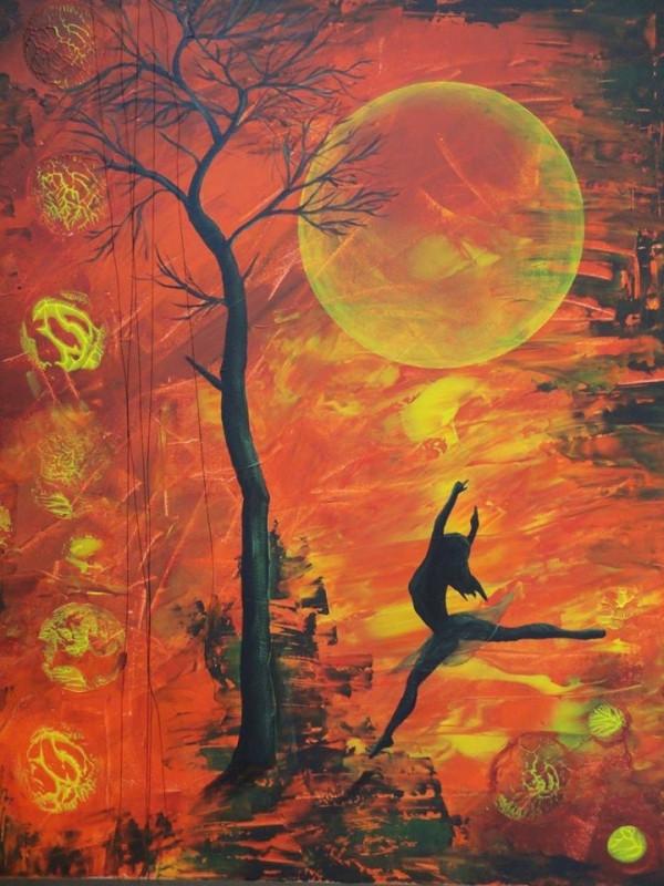 danser sous la lune