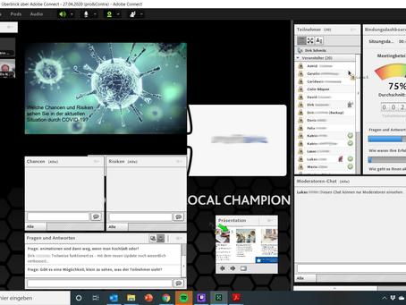 Schulungen und Konferenzen online halten mit Adobe Connect