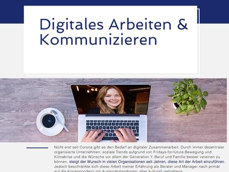 Digitales Arbeiten & Kommunizieren - Vorstellung was in welcher Situation hilft