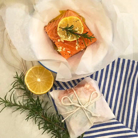 Salmon Parchment Packets