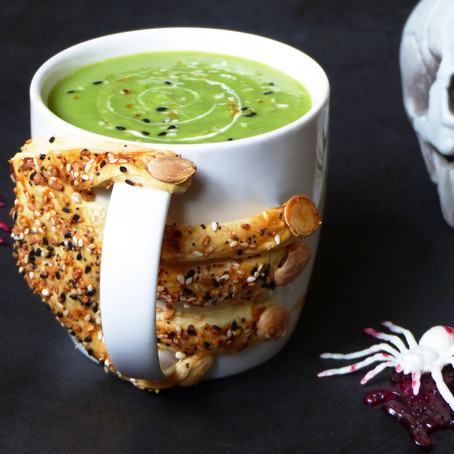 Witch's Brew Pea Soup