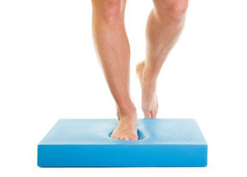 Balance exercise that works to strenghten muscles and joints. This can help to treat back pain and ankle pain.