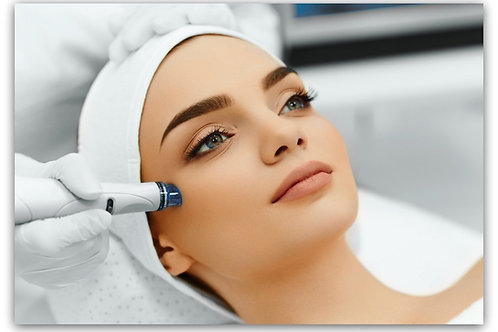 Microdermabrasion with option of Peel and Organic Mask.