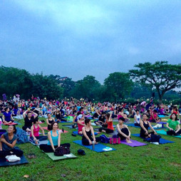 SHAPE Yoga in the Park