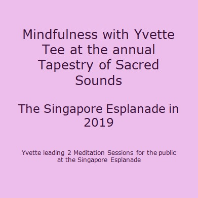 Yvette_Meditation at the Esplanade Theat