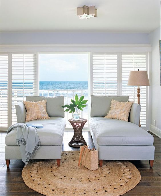 Coastal Chaise Lounges