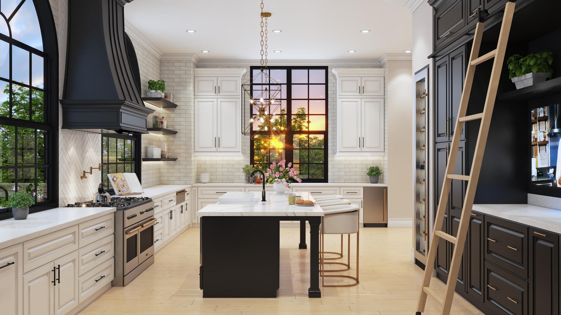Kitchen View - Three