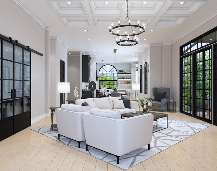 Stunning living spaces