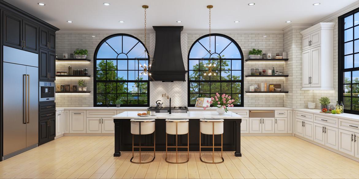 Stunning Kitchens at 30 North Park