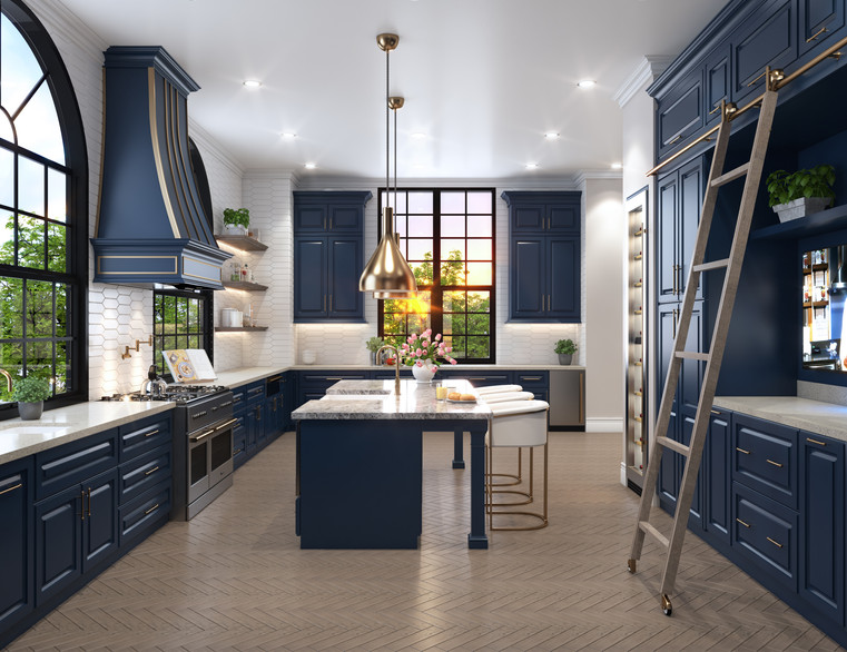 Encore Kitchen Unit 9 with Ladder.jpg