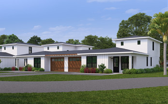 Front exterior image of Farmstead 44 by Urban Hideaway™ Residences in Eustis, Florida