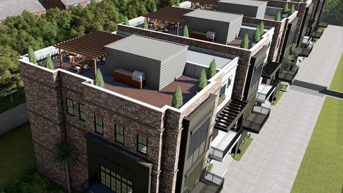 Rooftop Entertaining Terraces