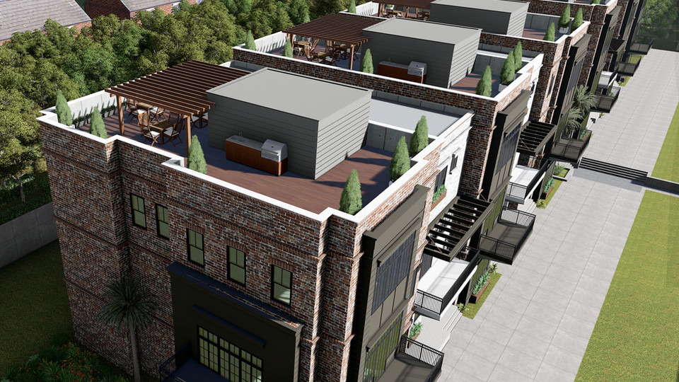 Rooftop Entertaining Terraces