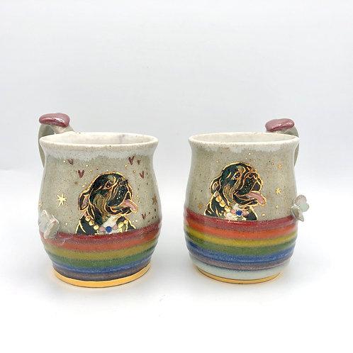 Rainbow Pudding Mug