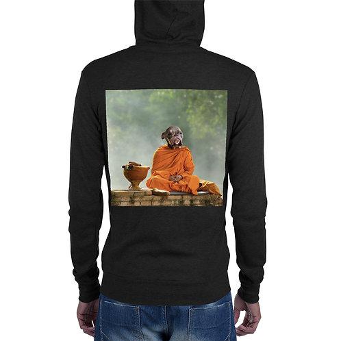 Zen Monty Unisex zip hoodie