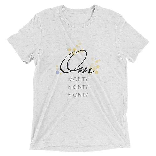Om Monty Tri Blend Short sleeve t-shirt