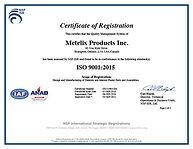 ISO 9001 Certificate C0111965-IS6 05-SEP