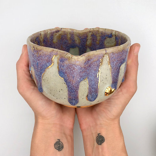 Dripping with Love Heart Bowl