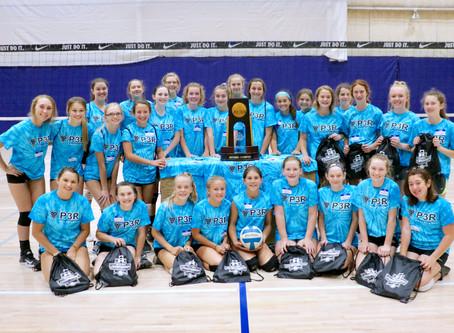 NCAA Trophy visits 12th Annual P3R Summer Camp