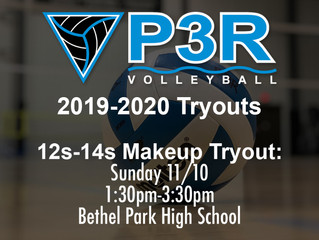 12s-14s Makeup Tryout Announced