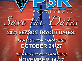 SAVE THE DATE: 2021 Tryout Info Coming Soon...