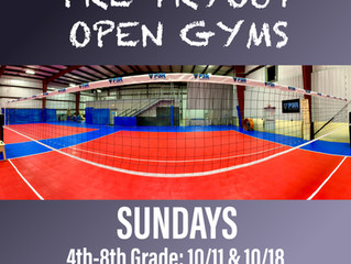 FULL: Pre-Tryout Open Gyms