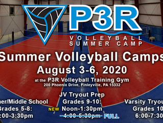 P3R announces 13th Annual Summer Camp; Register NOW