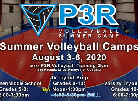P3R announces 13th Annual Summer Camp; Register NOW