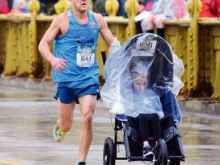 Co-Director Mike Bruno & Daughter Run Pittsburgh Marathon