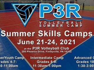 P3R announces 14th Annual Summer Camp; Register NOW