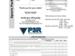 P3R Team & Individual Photo Days