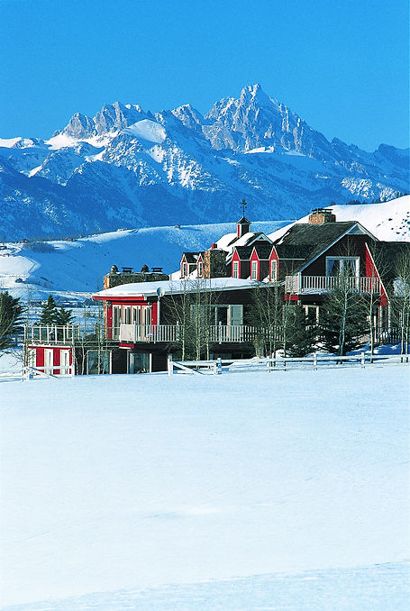 Rancho Alegre Lodge Teton Mountains