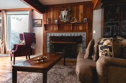 Cowboy Suite Fireplace