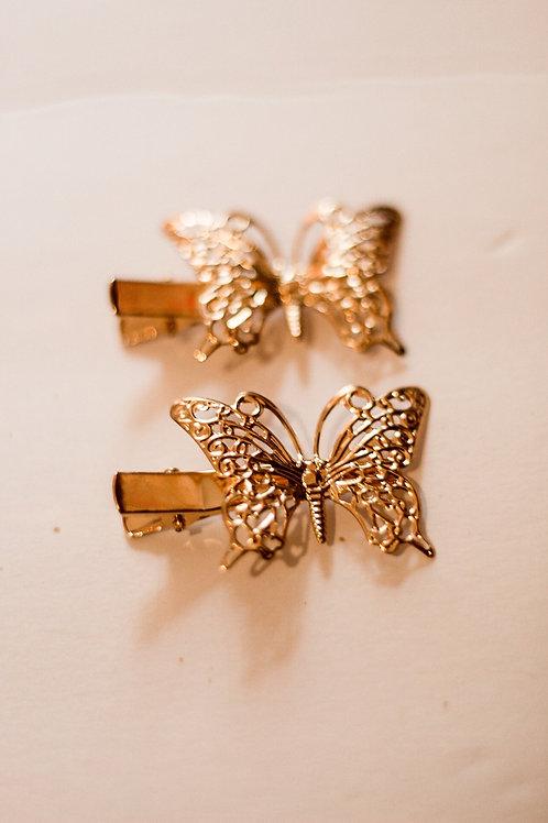 Golden Princess Butterfly duo